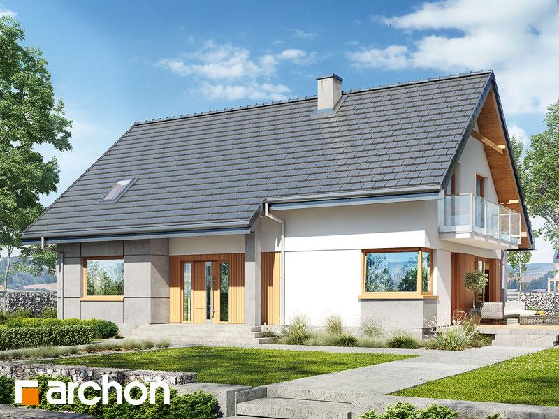 Проект будинку ARCHON+ Будинок в аурорах 5 Вид 1