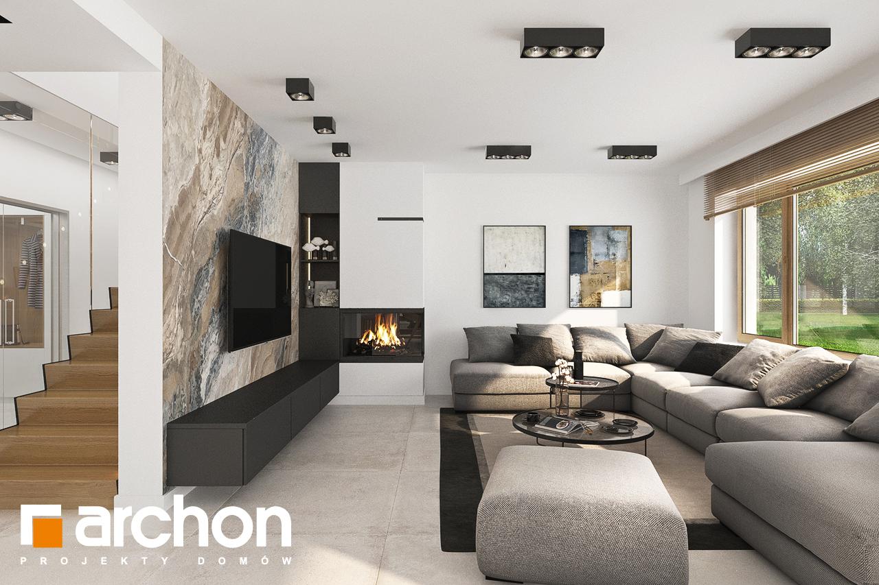 Проект будинку ARCHON+ Будинок в аурорах 5 денна зона (візуалізація 1 від 1)