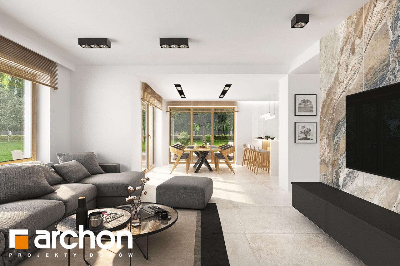 Проект будинку ARCHON+ Будинок в аурорах 5 денна зона (візуалізація 1 від 3)