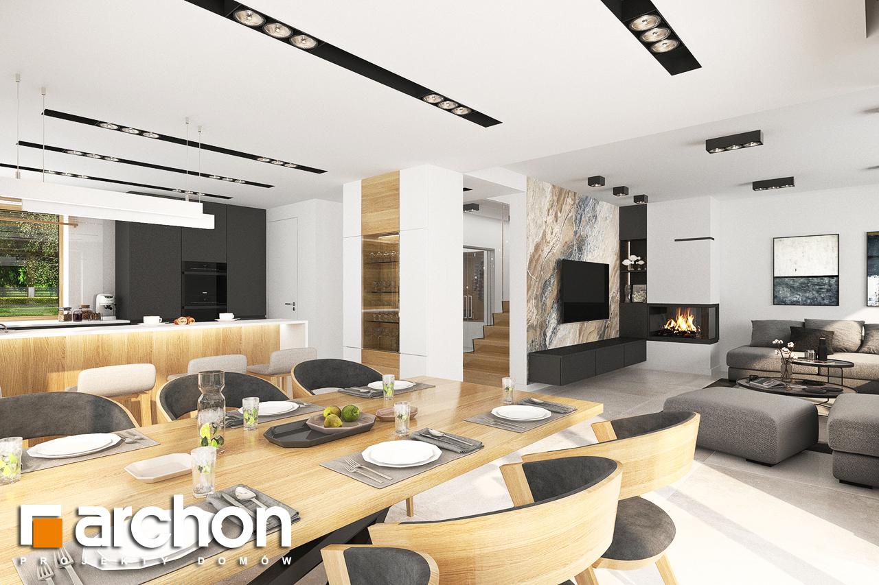 Проект будинку ARCHON+ Будинок в аурорах 5 денна зона (візуалізація 1 від 5)