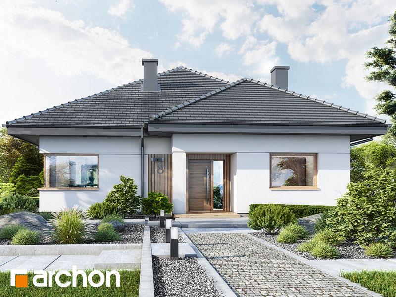 Проект будинку ARCHON+ Будинок в ренклодах 17 Вид 1