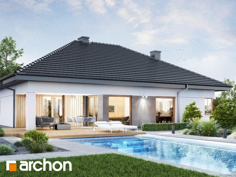 Проект будинку ARCHON+ Будинок в ренклодах 17 Вид 2