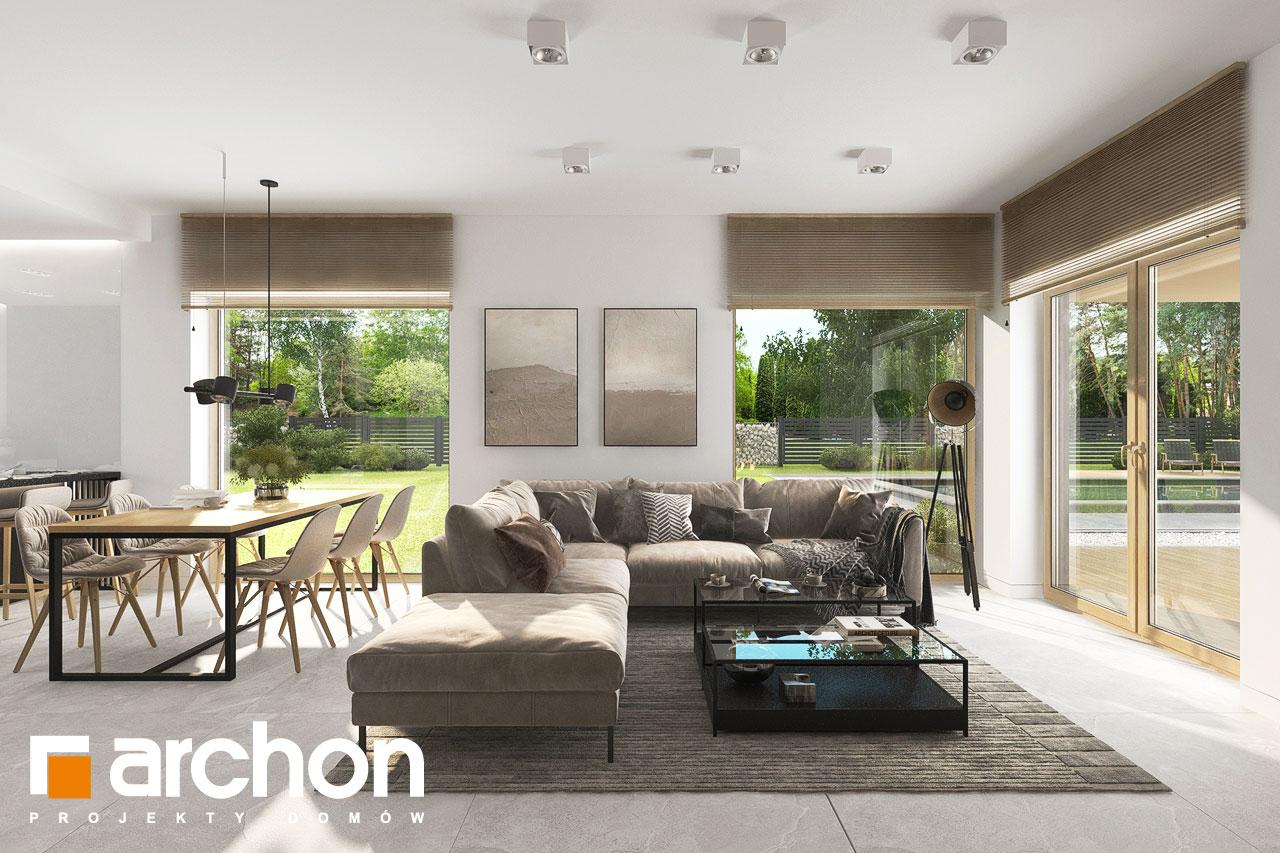 Проект будинку ARCHON+ Будинок в ренклодах 17 денна зона (візуалізація 1 від 3)