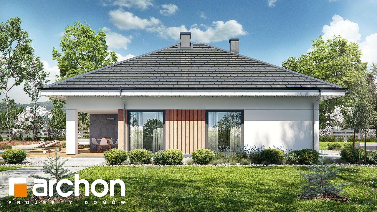 Проект будинку ARCHON+ Будинок в хакетіях 3 додаткова візуалізація