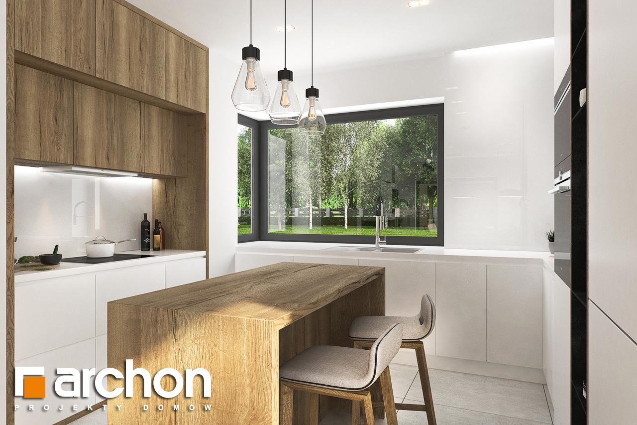 Проект будинку ARCHON+ Будинок в хакетіях 3 візуалізація кухні 1 від 1