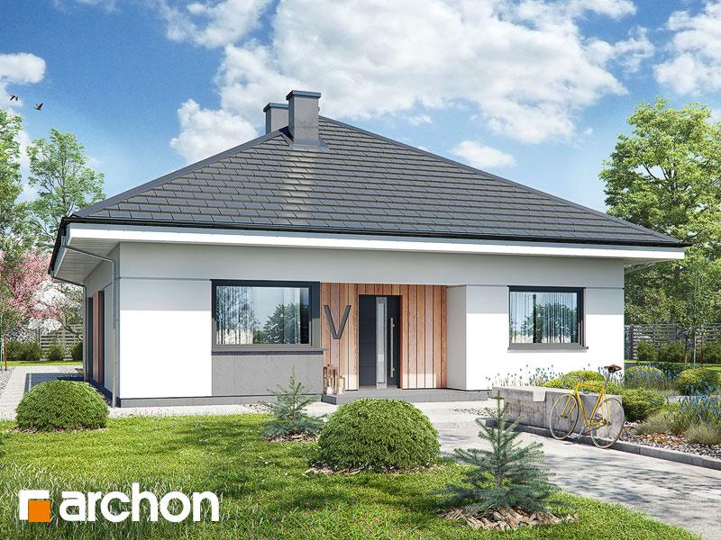 Проект будинку ARCHON+ Будинок в хакетіях 3 Вид 1