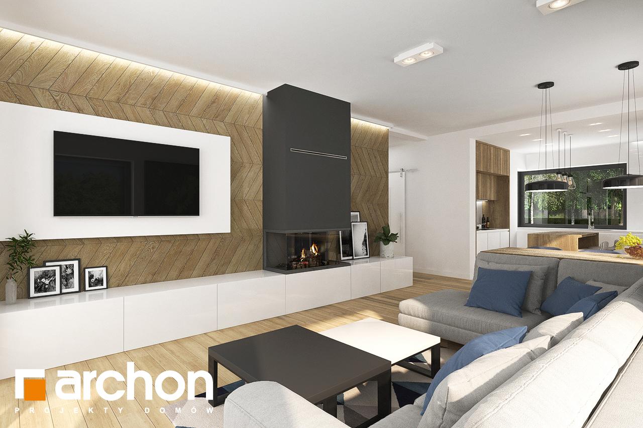 Проект будинку ARCHON+ Будинок в хакетіях 3 денна зона (візуалізація 1 від 1)