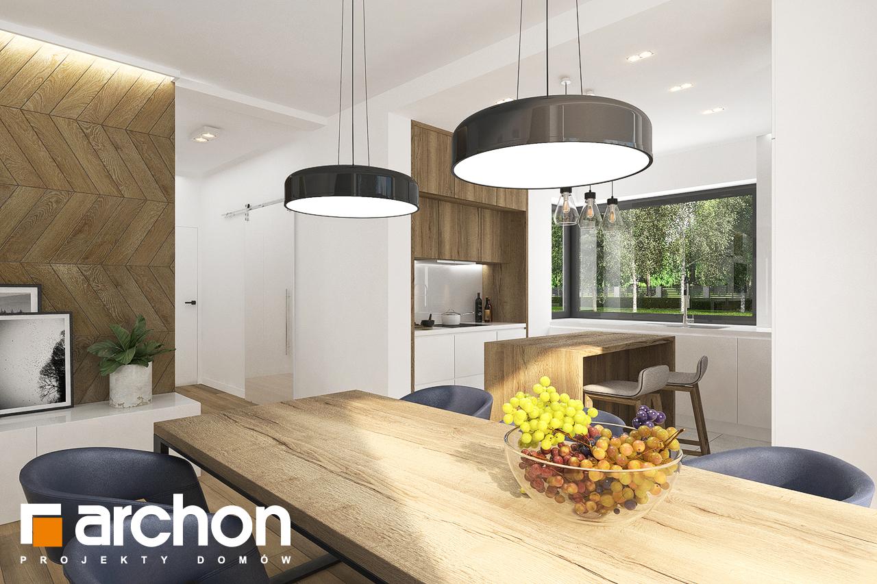 Проект будинку ARCHON+ Будинок в хакетіях 3 денна зона (візуалізація 1 від 2)