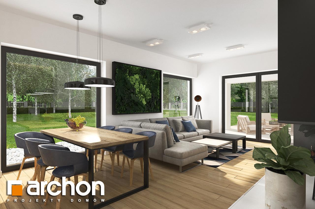 Проект будинку ARCHON+ Будинок в хакетіях 3 денна зона (візуалізація 1 від 3)