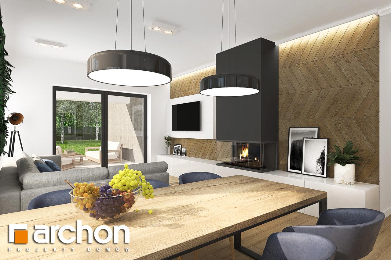 Проект будинку ARCHON+ Будинок в хакетіях 3 денна зона (візуалізація 1 від 4)