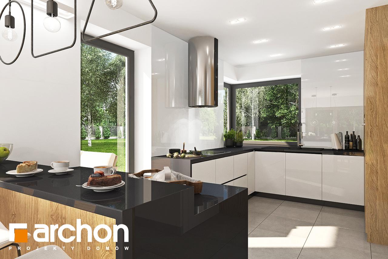 Проект дома ARCHON+ Дом в орлишках (Г2) визуализация кухни 1 вид 1