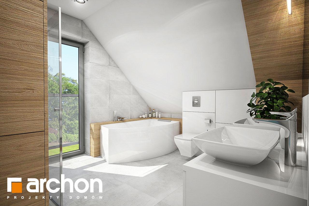 Проект дома ARCHON+ Дом в орлишках (Г2) визуализация ванной (визуализация 3 вид 1)