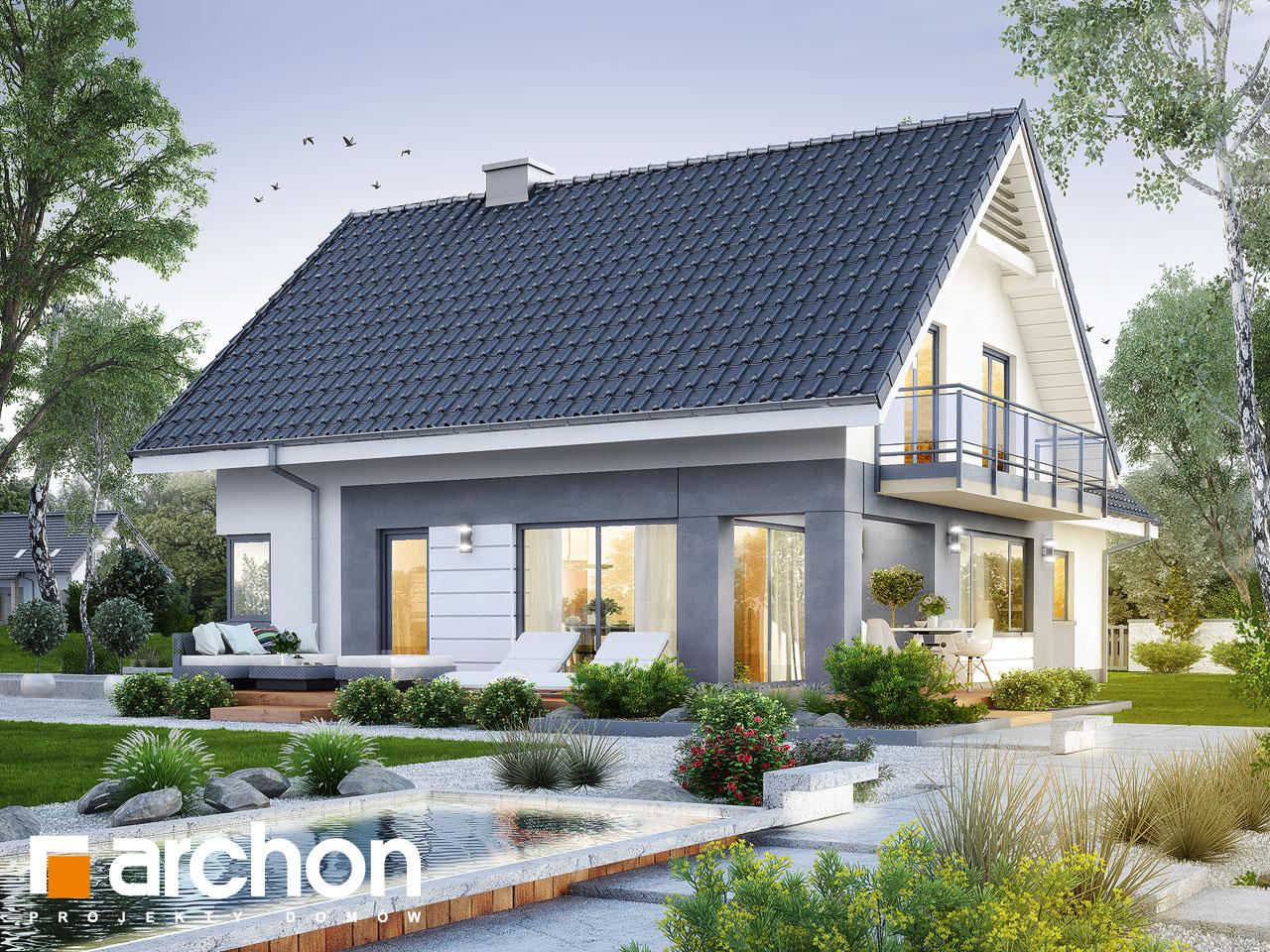 Проект дома ARCHON+ Дом в орлишках (Г2) Вид 2