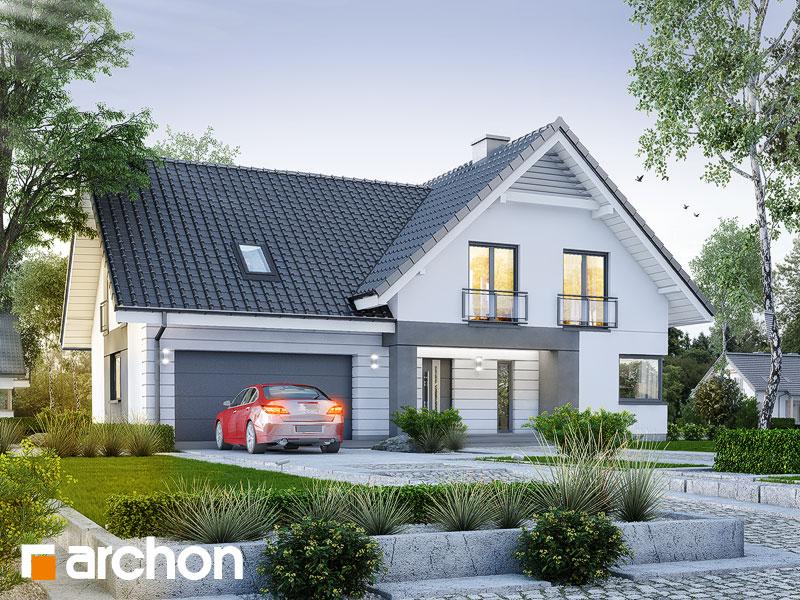 Проект дома ARCHON+ Дом в орлишках (Г2) Вид 1