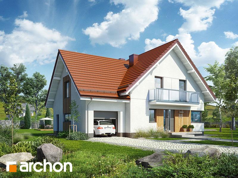 Проект будинку ARCHON+ Будинок у клосовцях Вид 1