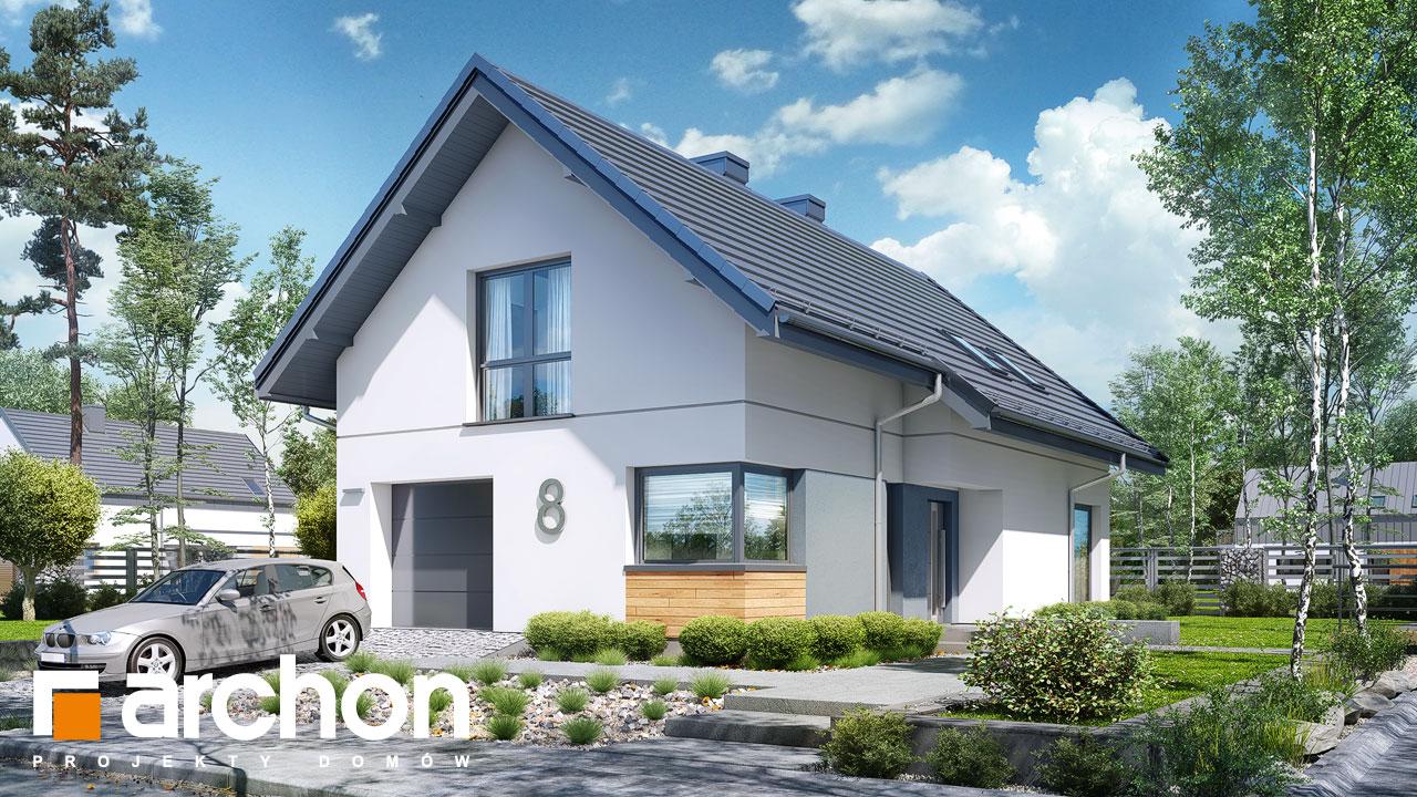 Проект будинку ARCHON+ Будинок в ліголях стилізація 3