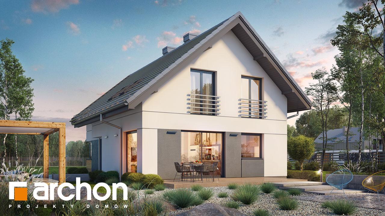 Проект будинку ARCHON+ Будинок в ліголях стилізація 4