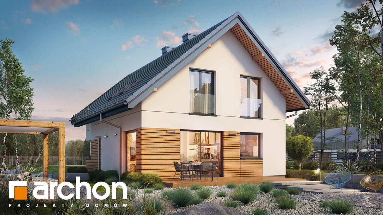 Проект будинку ARCHON+ Будинок в ліголях Вид 2