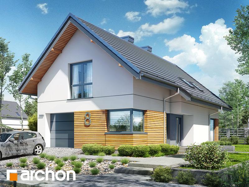 Проект будинку ARCHON+ Будинок в ліголях Вид 1
