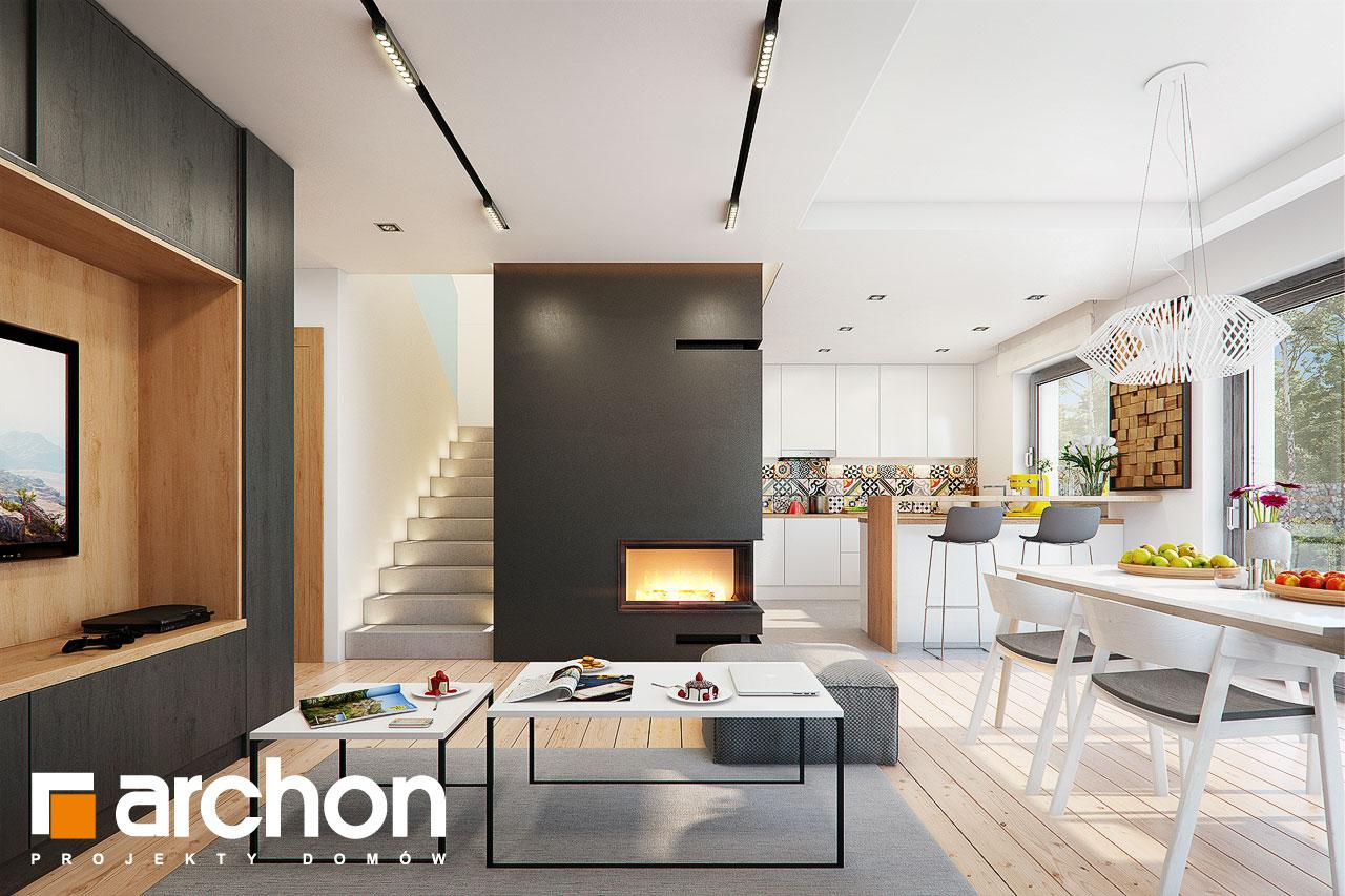 Проект будинку ARCHON+ Будинок в ліголях денна зона (візуалізація 1 від 1)