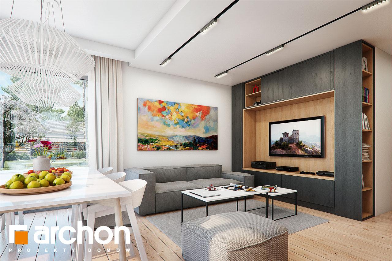 Проект будинку ARCHON+ Будинок в ліголях денна зона (візуалізація 1 від 2)