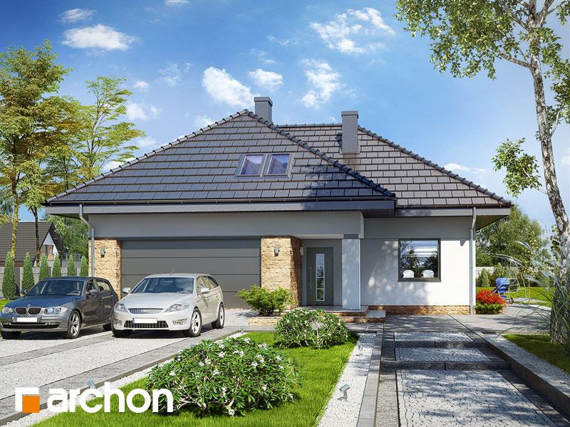 Проект будинку ARCHON+ Будинок в тавулах (Г2) Вид 1