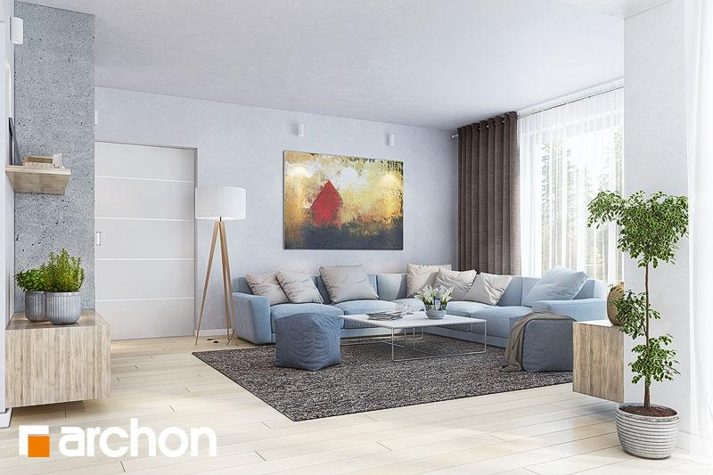 Проект будинку ARCHON+ Будинок в тавулах (Г2) денна зона (візуалізація 1 від 3)