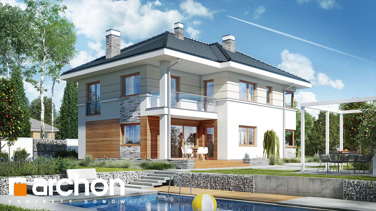 Проект будинку ARCHON+ Вілла Сесилія Вид 2