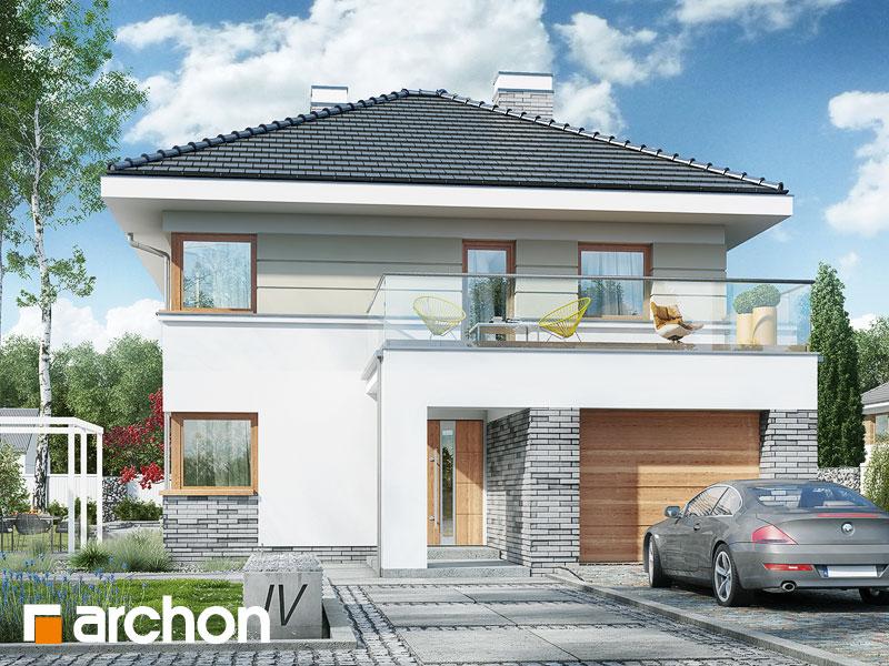 Проект будинку ARCHON+ Вілла Сесилія Вид 1