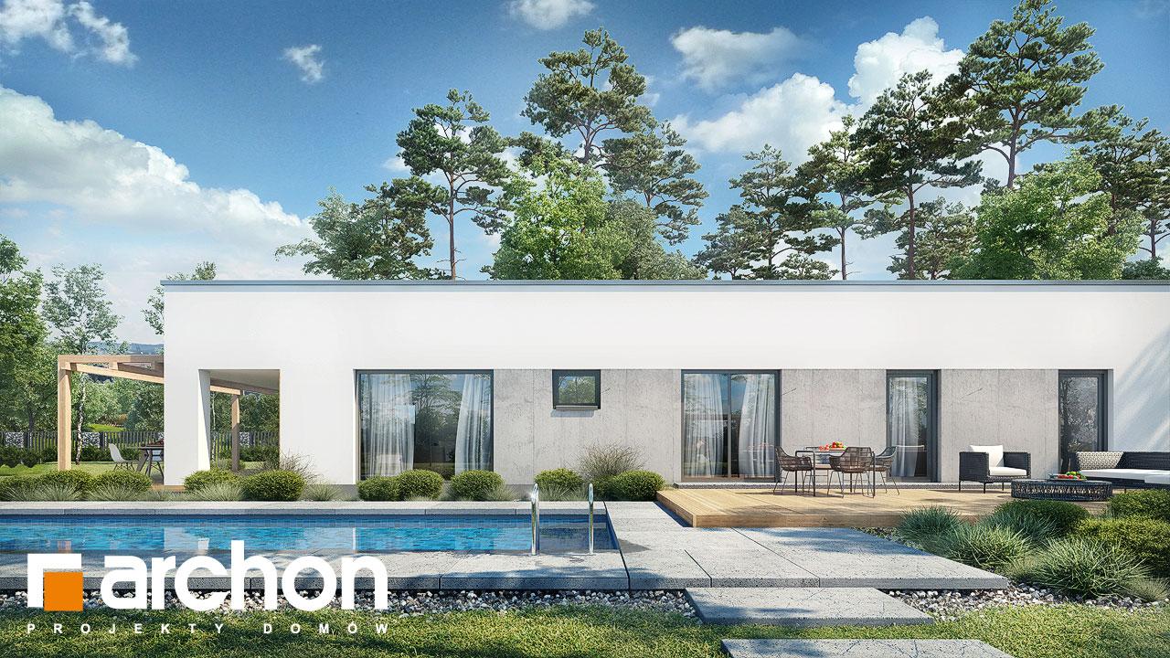 Проект будинку ARCHON+ Будинок в хурмах 2 додаткова візуалізація