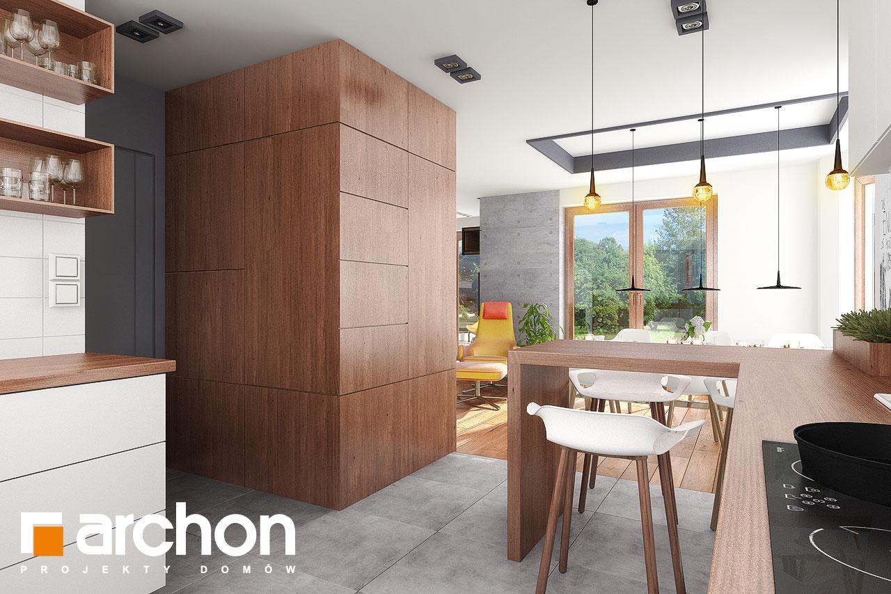 Проект будинку ARCHON+ Будинок в калатеях 5 Termo візуалізація кухні 3 від 2