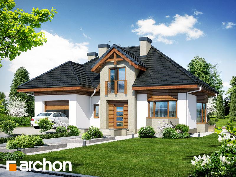 Проект будинку ARCHON+ Будинок в калатеях 5 Termo Вид 1