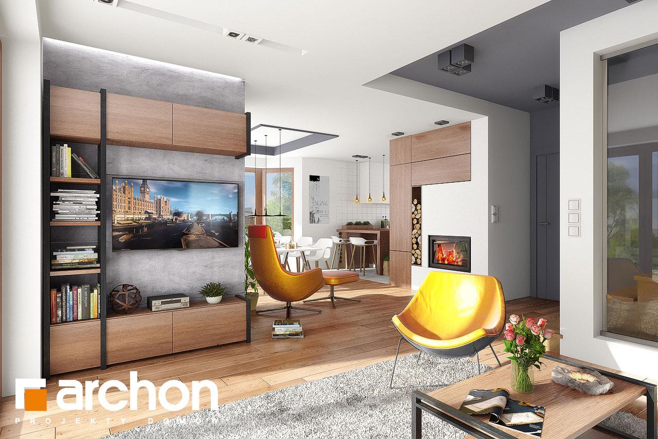 Проект будинку ARCHON+ Будинок в калатеях 5 Termo денна зона (візуалізація 1 від 1)