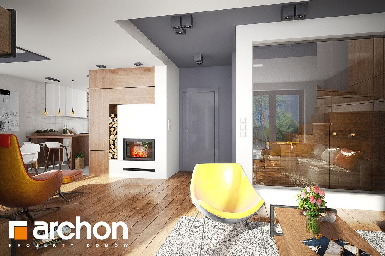Проект будинку ARCHON+ Будинок в калатеях 5 Termo денна зона (візуалізація 1 від 2)