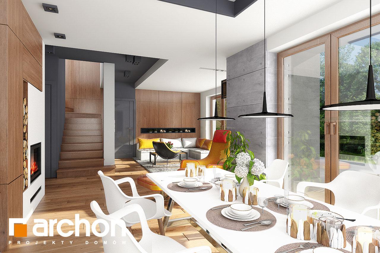 Проект будинку ARCHON+ Будинок в калатеях 5 Termo денна зона (візуалізація 1 від 4)