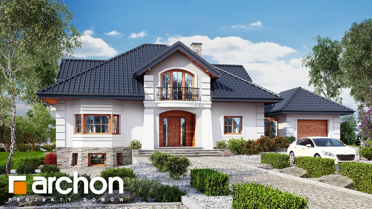 Проект будинку ARCHON+ Резиденція у персимонах 3 додаткова візуалізація