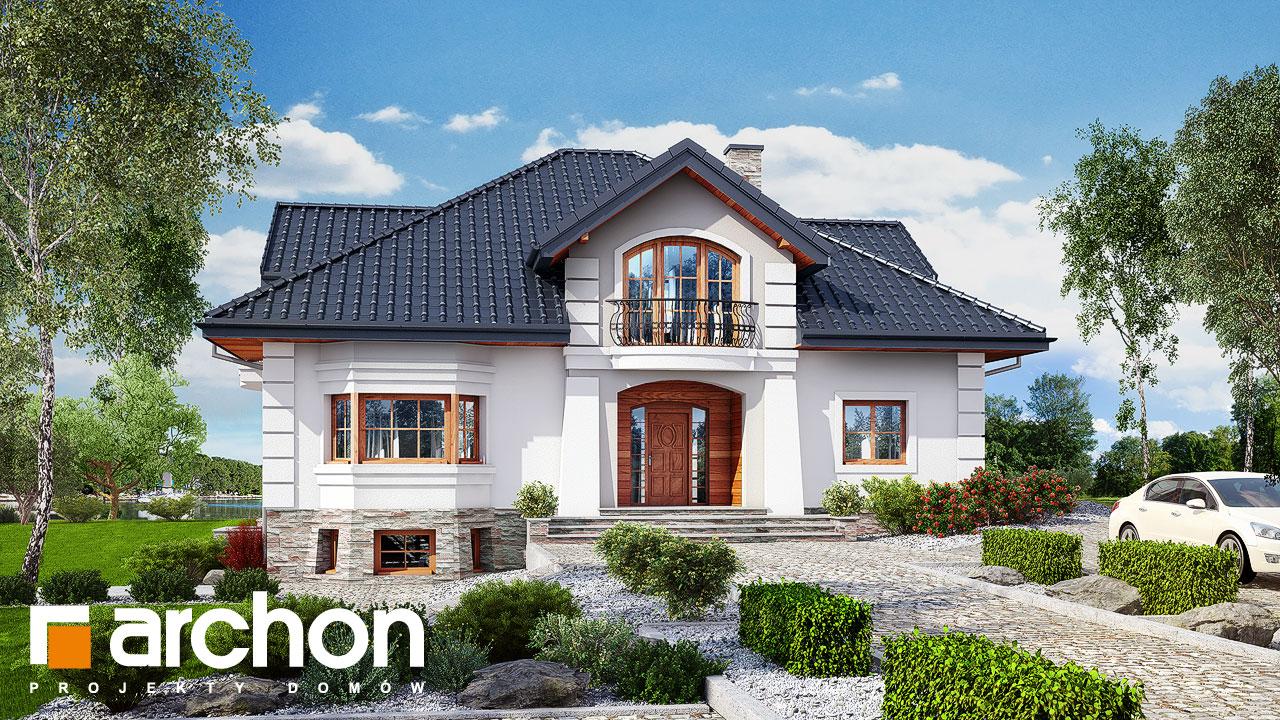 Проект будинку ARCHON+ Резиденція у персимонах 3 Вид 2