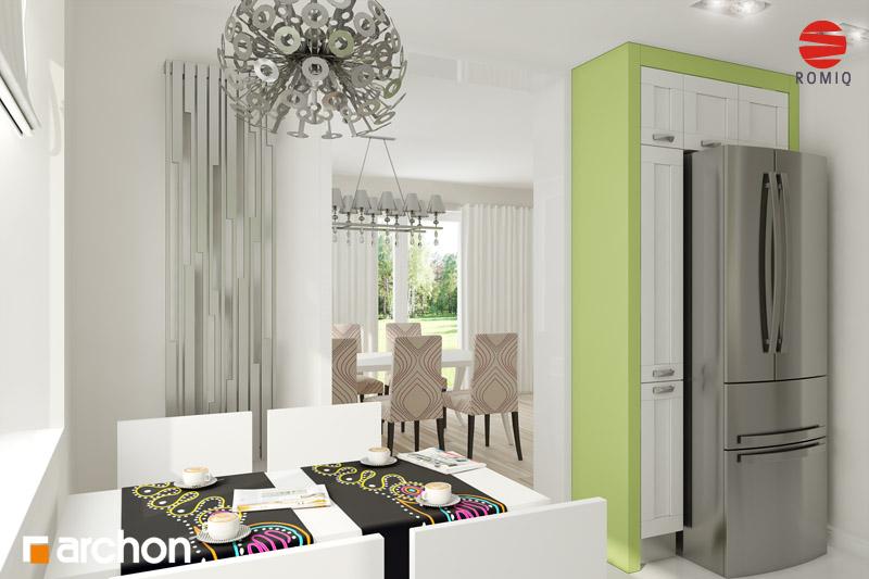 Проект дома ARCHON+ Дом в горошке 4 вер.2 аранжировка кухни 1 вид 3