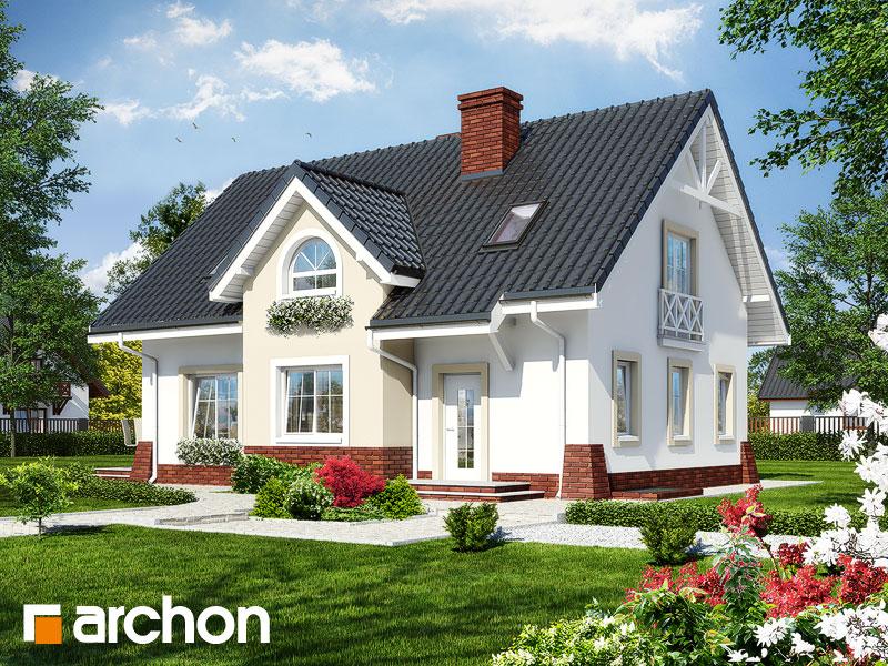Проект дома ARCHON+ Дом в горошке 4 Вид 1