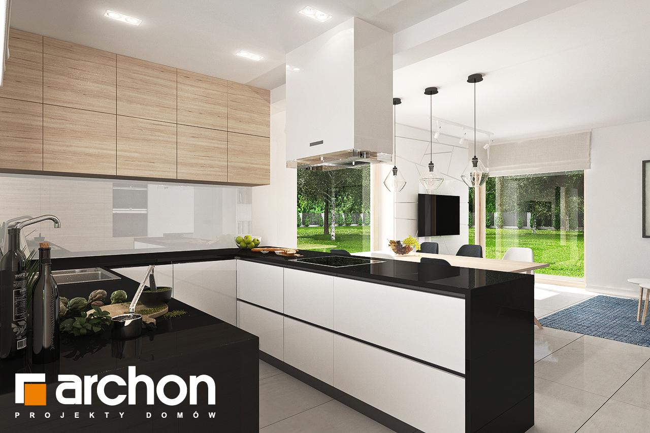 Проект будинку ARCHON+ Будинок в яблонках 7 візуалізація кухні 1 від 1