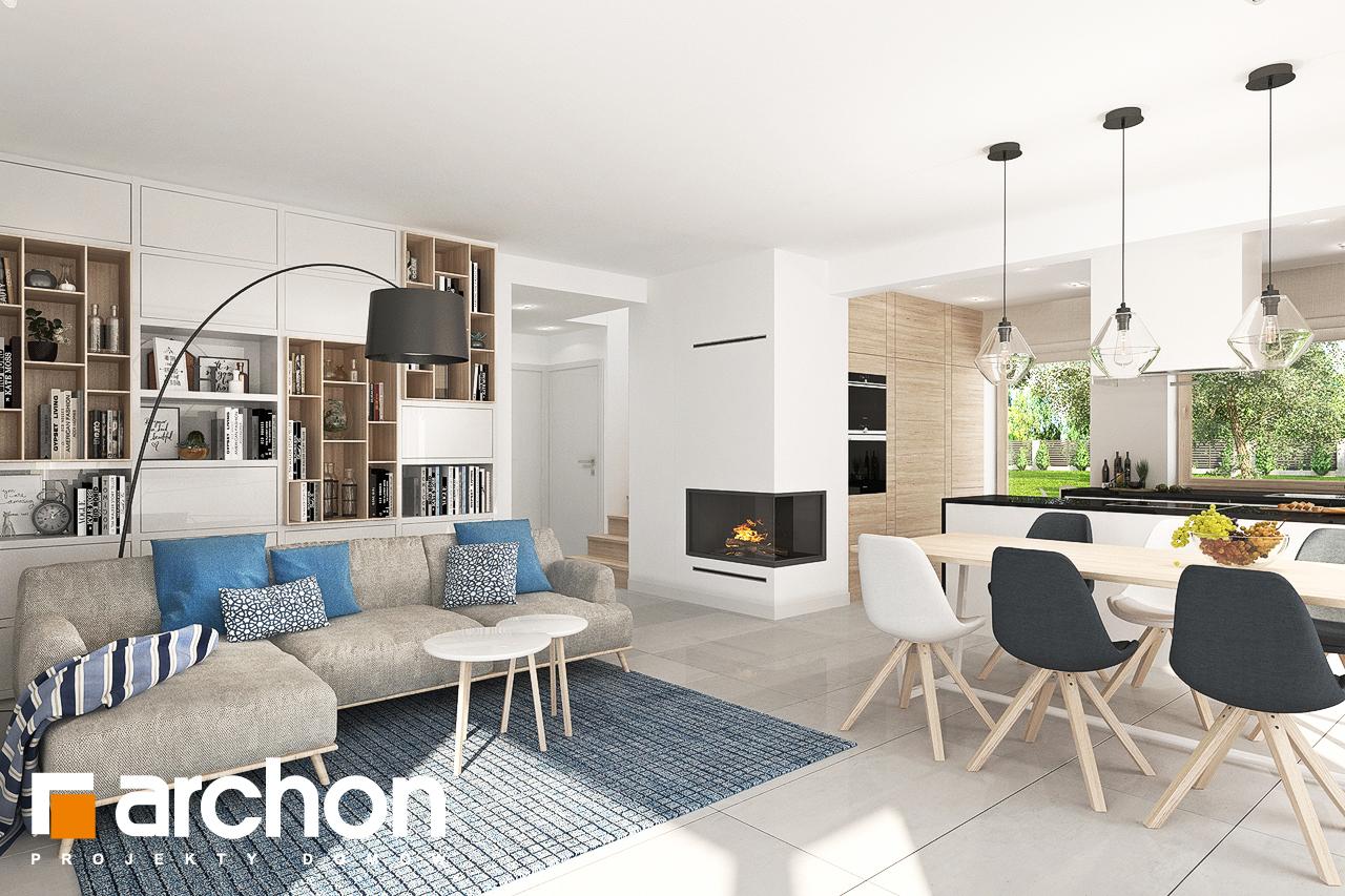 Проект будинку ARCHON+ Будинок в яблонках 7 денна зона (візуалізація 1 від 1)