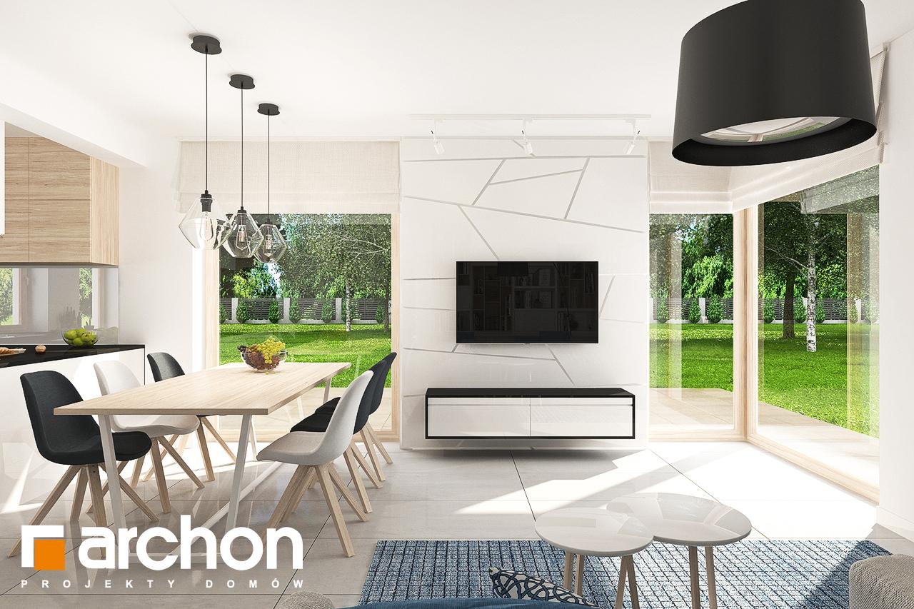 Проект будинку ARCHON+ Будинок в яблонках 7 денна зона (візуалізація 1 від 3)