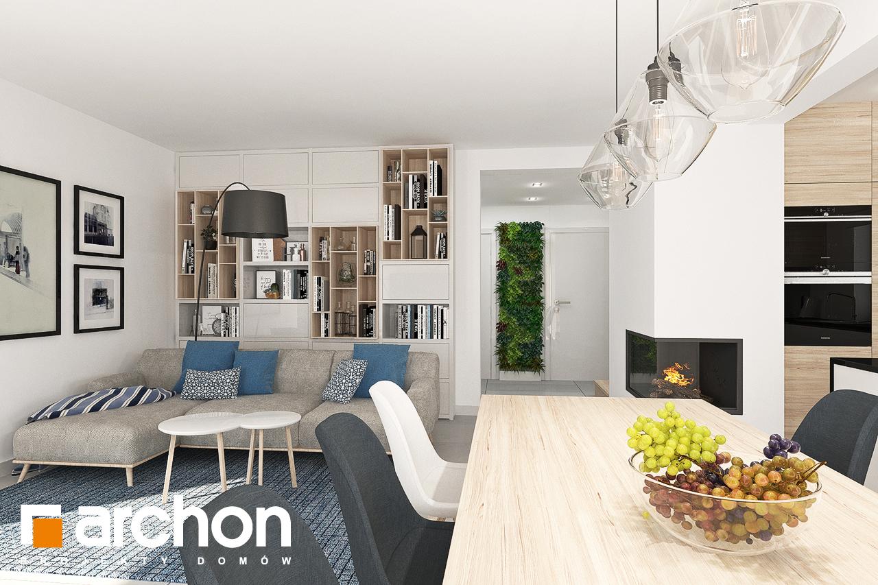 Проект будинку ARCHON+ Будинок в яблонках 7 денна зона (візуалізація 1 від 5)