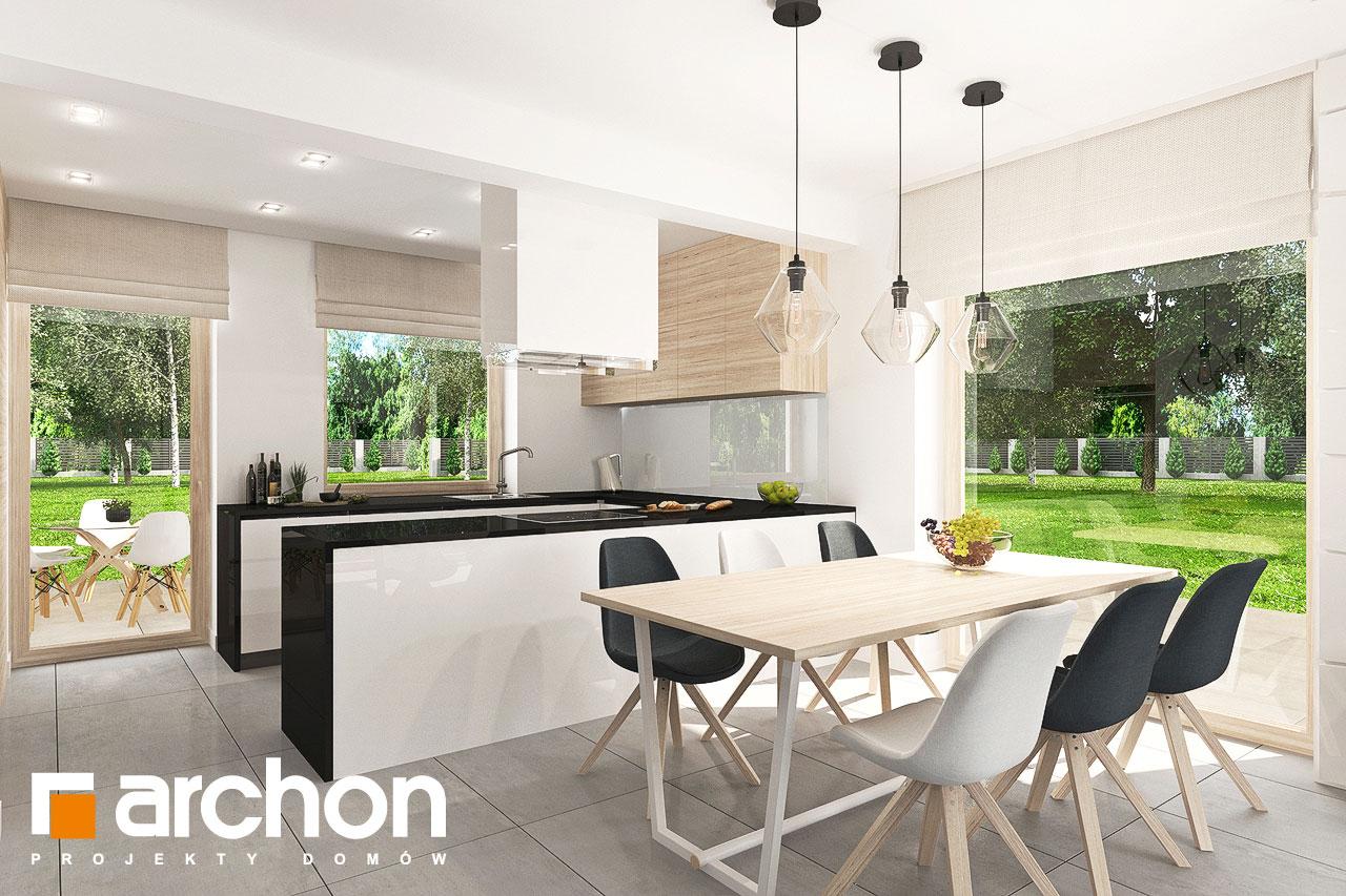 Проект будинку ARCHON+ Будинок в яблонках 7 денна зона (візуалізація 1 від 6)
