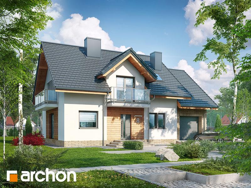 Проект будинку ARCHON+ Будинок в рододендронах 23 Вид 1