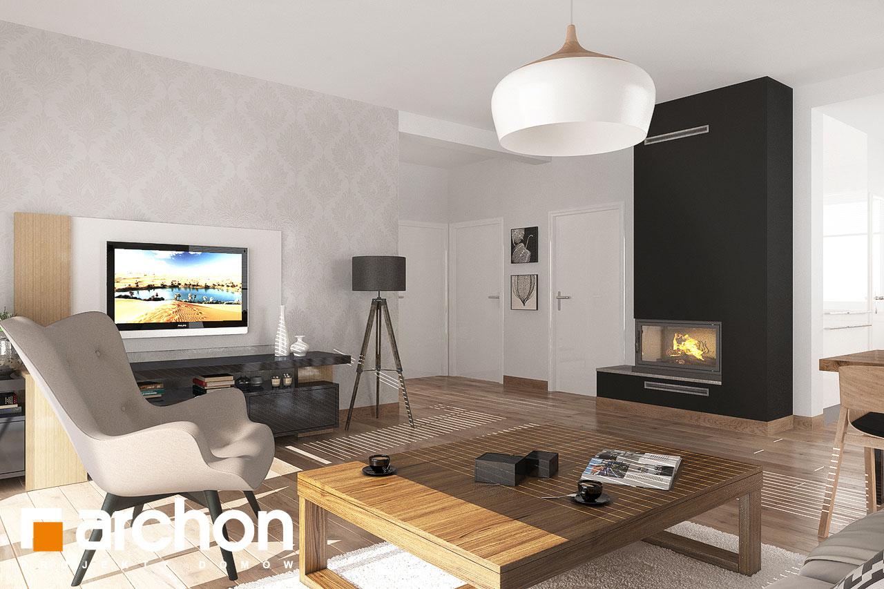 Проект будинку ARCHON+ Будинок в рододендронах 23 денна зона (візуалізація 1 від 1)