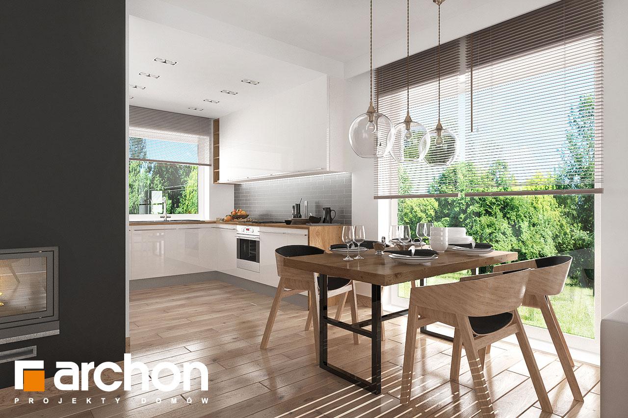 Проект будинку ARCHON+ Будинок в рододендронах 23 денна зона (візуалізація 1 від 5)