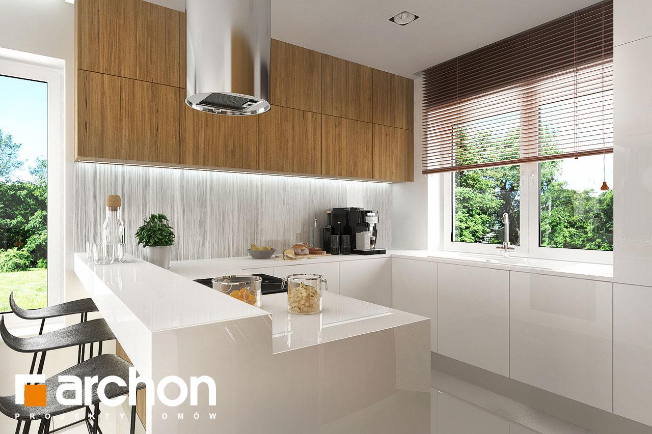 Проект будинку ARCHON+ Будинок в яблонках 5 візуалізація кухні 1 від 1
