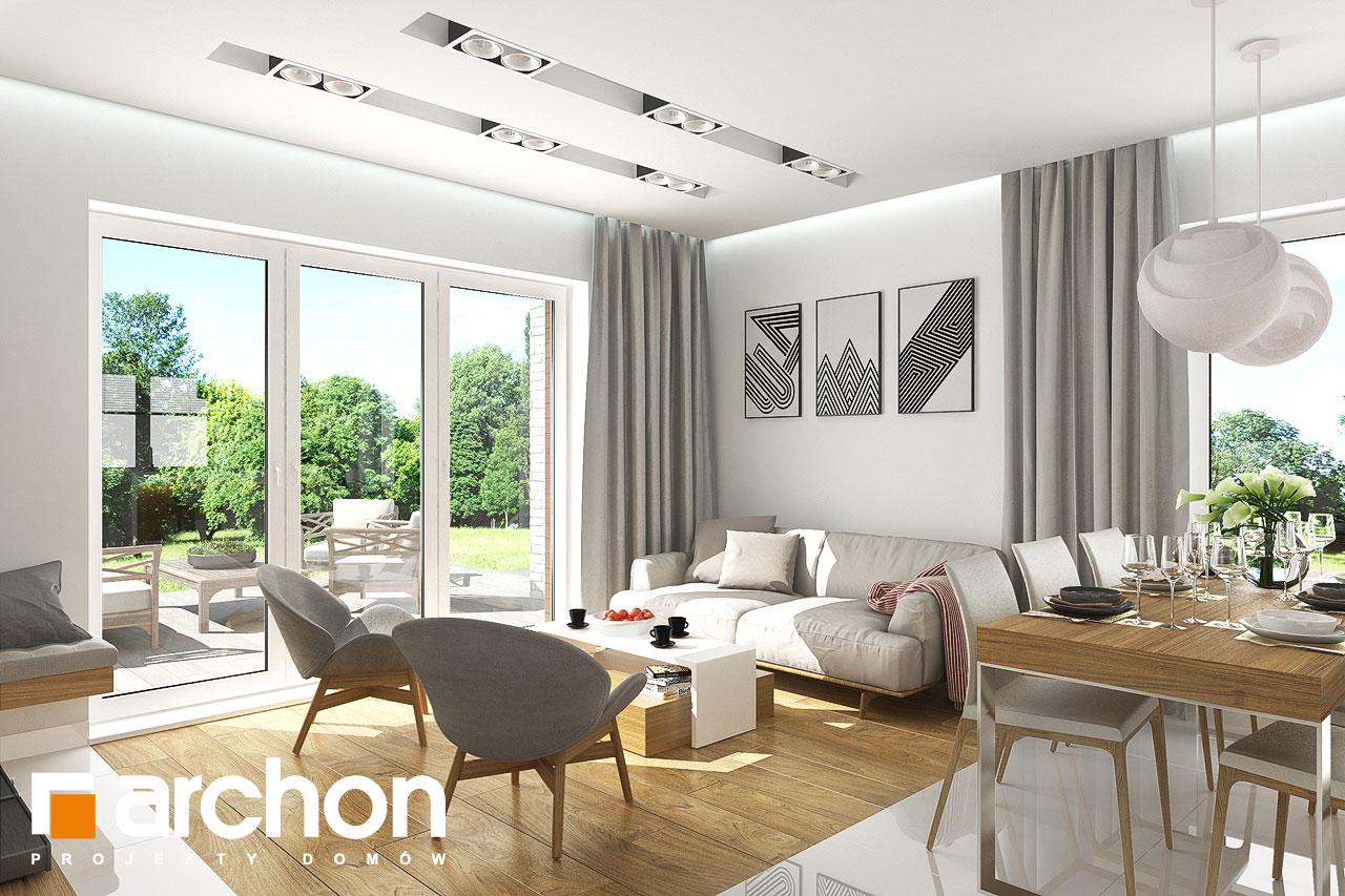Проект будинку ARCHON+ Будинок в яблонках 5 денна зона (візуалізація 1 від 1)