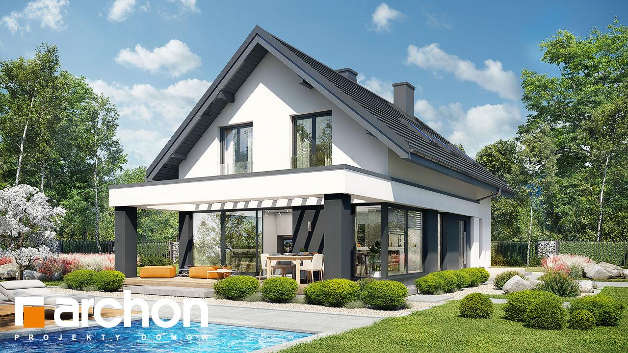 Проект будинку ARCHON+ Будинок в шишковиках 3 додаткова візуалізація